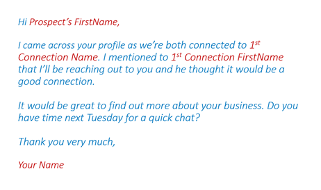 How to Get Referrals from Your LinkedIn Connections Part 4