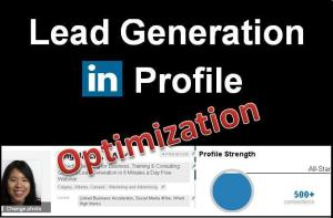 Lead Generation LinkedIn Profile Optimization Cover v1